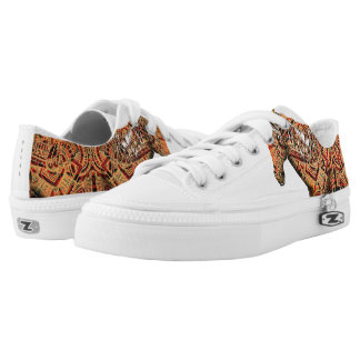 Aztec Horse Low Tops