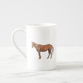 Aztec Horse Tea Cup