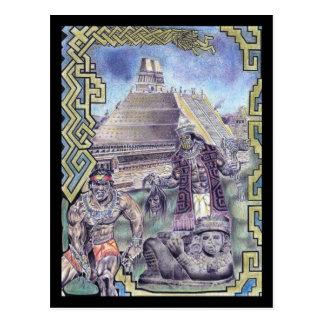 Aztec Magic Postcard