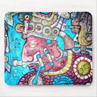 Aztec Maya Inca High Priest Indian Mousepad art