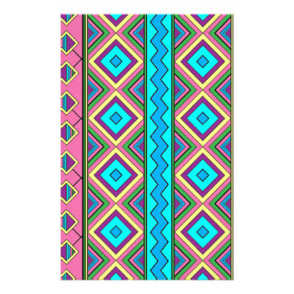 Aztec mayan pattern stationery