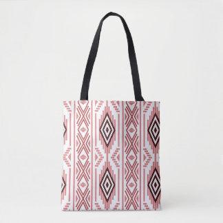 Aztec Native American Tribal Pattern Tote Bag