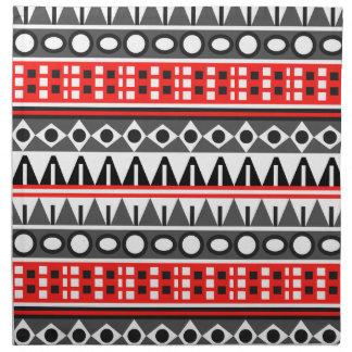 Aztec native pattern napkin