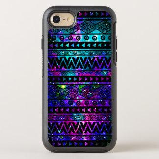 Aztec Nebula Pink Teal Blue OtterBox iPhone 7 Case