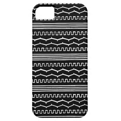 AZTEC NIGHT : Monochrome series iPhone 5 Case