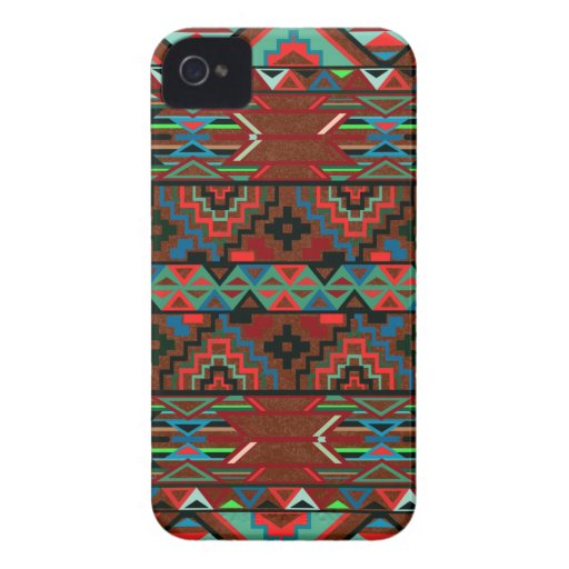 Aztec Pattern Blackberry Bold Case
