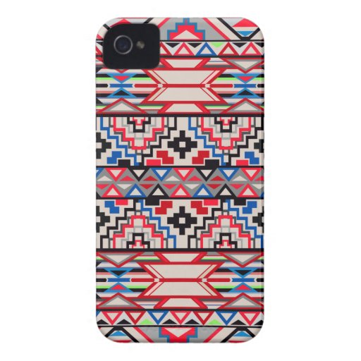 Aztec Pattern Blackberry Bold Case Case-Mate iPhone 4 Cases