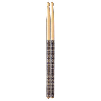 Aztec Pattern custom drumsticks