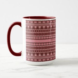 Aztec Pattern custom mugs