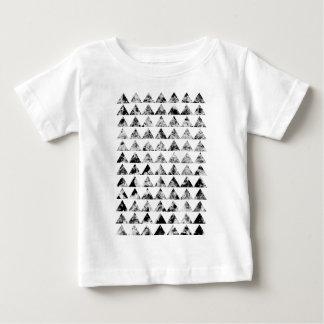 Aztec print black blank Black White Baby T-Shirt