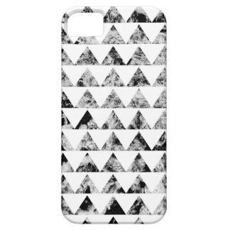 Aztec print black blank Black White Case For The iPhone 5