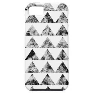 Aztec print black blank Black White iPhone 5 Covers