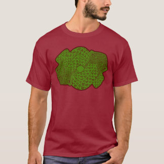 Aztec Serpent God Design T-Shirt
