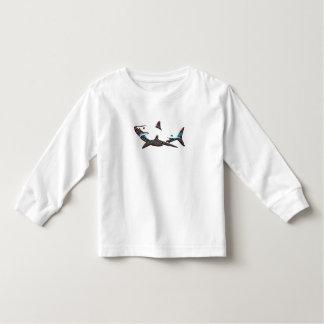 Aztec Shark Toddler T-Shirt