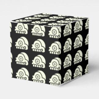 Aztec Skull Party Favor Box Wedding Favour Box