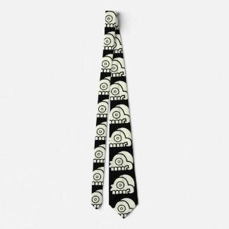 Aztec Skull Tie