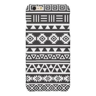 Aztec Style (large) Pattern - Monochrome