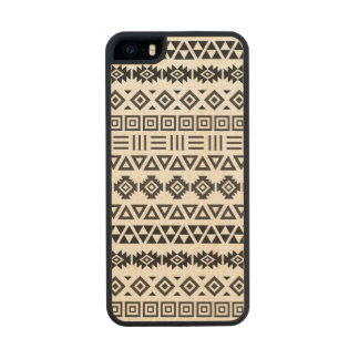 Aztec Style Pattern II (b) – Monochrome