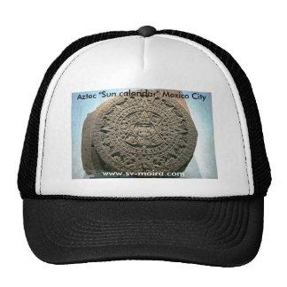 "Aztec ""Sun calendar,"" Mexico City Hats"