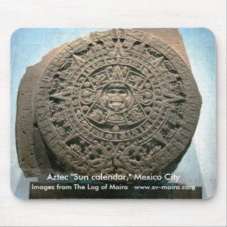 "Aztec ""Sun calendar,"" Mexico City Mouse Pad"