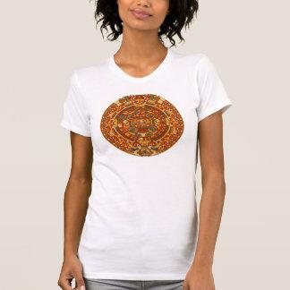 Aztec Sun Calendar Tee Shirts