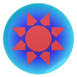 Aztec Sun Dinner Plate