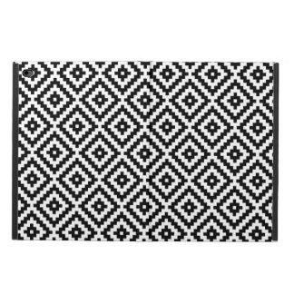 Aztec Symbol Block Pattern Black & White Powis iPad Air 2 Case