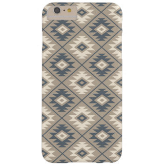 Aztec Symbol Stylized Pattern Blue Cream Sand Barely There iPhone 6 Plus Case