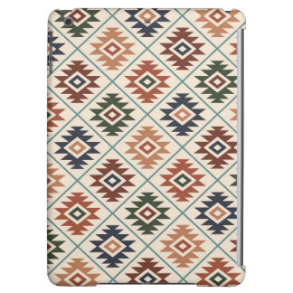 Aztec Symbol Stylized Pattern Color Mix