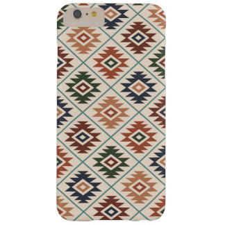 Aztec Symbol Stylized Pattern Color Mix Barely There iPhone 6 Plus Case