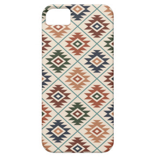 Aztec Symbol Stylized Pattern Color Mix Case For The iPhone 5
