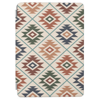 Aztec Symbol Stylized Pattern Color Mix iPad Air Cover