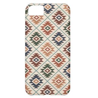Aztec Symbol Stylized Pattern Color Mix iPhone 5C Case
