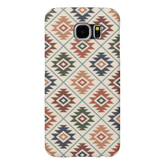 Aztec Symbol Stylized Pattern Color Mix Samsung Galaxy S6 Cases