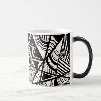 Aztec Temperature Color changing Mug