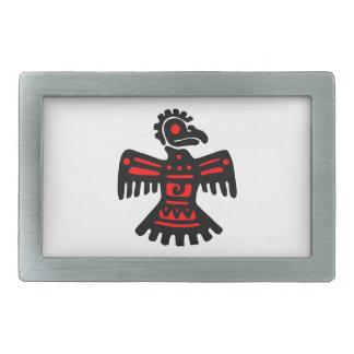 Aztec Thunderbird Belt Buckles