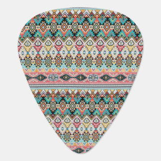 Aztec tribal pattern plectrum