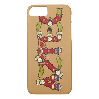 Aztec typographic iPhone 7 case
