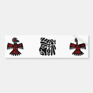 Aztec Warrior Bumper Sticker