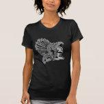 aztec warrior tee shirt