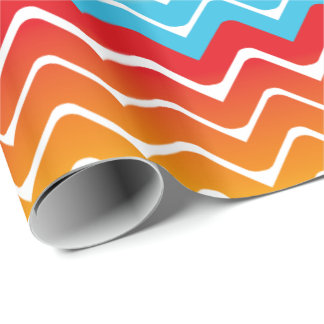 Aztec Waves Wrapping Paper