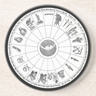 Aztec Year Coaster