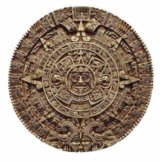 Azteca Standing Photo Sculpture