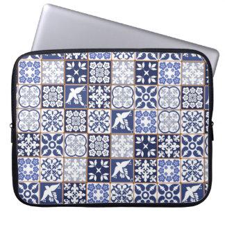 Azulejos, Azulejo pattern laptop sleeve