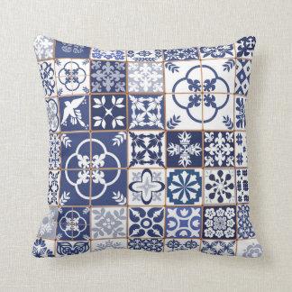 Azulejos Pattern Pillow