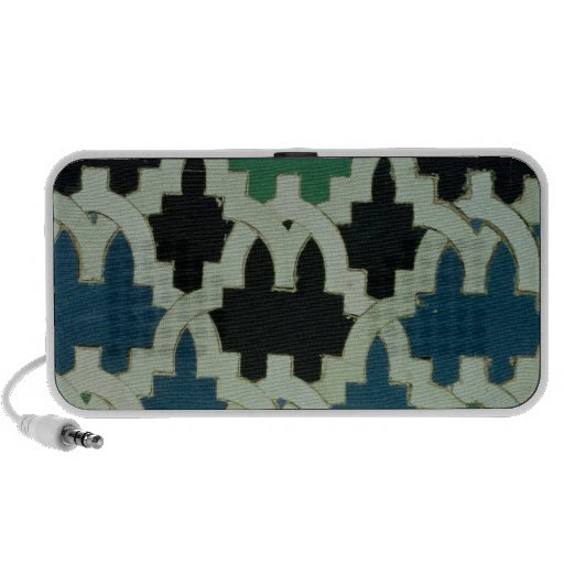 Azulejos tiles from the throne of the Sultans iPhone Speakers