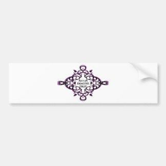 Azulia Imagine That (vine) Bumper Sticker