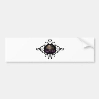 Azulia Vine Bumper Sticker