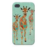 Azure & Amber Giraffes i
