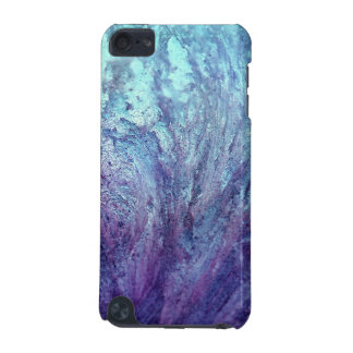 Azure and violet abstract texture, iPod case
